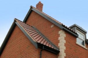 Black Woodgrain Roofline from Swish Adds Elegance to Norfolk Development