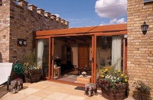 A Patio Door for all Seasons