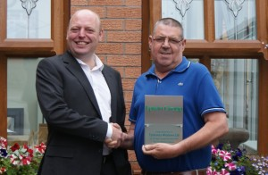 Celebrating 15 years in partnership  with Tyldesley Windows